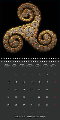 Triskel (Wall Calendar 2019 300 × 300 mm Square) - Produktdetailbild 3