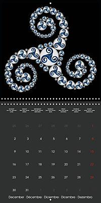 Triskel (Wall Calendar 2019 300 × 300 mm Square) - Produktdetailbild 12