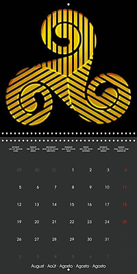 Triskel (Wall Calendar 2019 300 × 300 mm Square) - Produktdetailbild 8