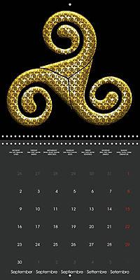 Triskel (Wall Calendar 2019 300 × 300 mm Square) - Produktdetailbild 9