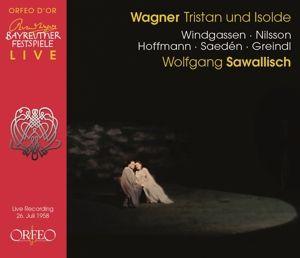 Tristan Und Isolde (Bayreuth,1958), Windgassen, Nilsson, Sawallisch, Obf