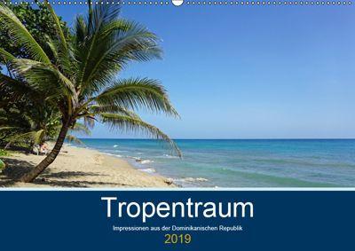 Tropentraum - Impressionen aus der Dominikanischen Republik (Wandkalender 2019 DIN A2 quer), Christian Schnoor