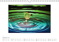 Tropfenfotografie der besondere Moment (Wandkalender 2019 DIN A4 quer) - Produktdetailbild 1
