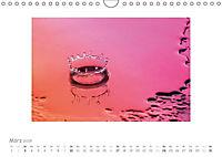 Tropfenfotografie der besondere Moment (Wandkalender 2019 DIN A4 quer) - Produktdetailbild 3