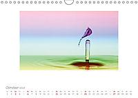 Tropfenfotografie der besondere Moment (Wandkalender 2019 DIN A4 quer) - Produktdetailbild 10