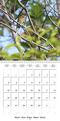 Tropical Greenery (Wall Calendar 2018 300 × 300 mm Square) - Produktdetailbild 3