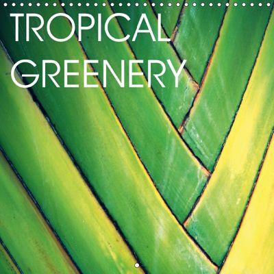 Tropical Greenery (Wall Calendar 2018 300 × 300 mm Square), Céline Baur