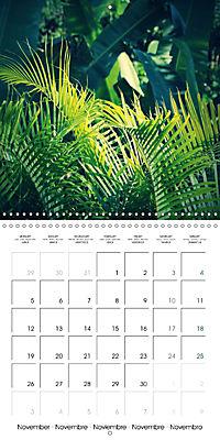 Tropical Greenery (Wall Calendar 2018 300 × 300 mm Square) - Produktdetailbild 11