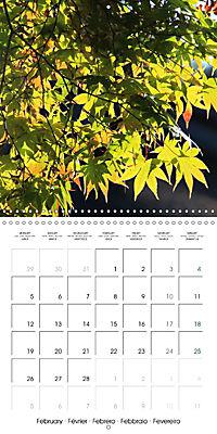 Tropical Greenery (Wall Calendar 2018 300 × 300 mm Square) - Produktdetailbild 2