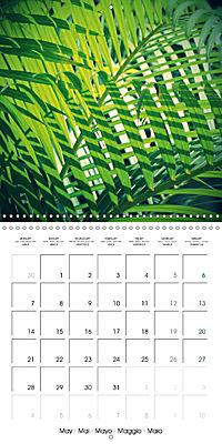 Tropical Greenery (Wall Calendar 2018 300 × 300 mm Square) - Produktdetailbild 5