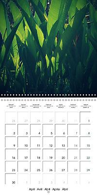 Tropical Greenery (Wall Calendar 2018 300 × 300 mm Square) - Produktdetailbild 4