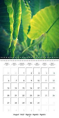 Tropical Greenery (Wall Calendar 2018 300 × 300 mm Square) - Produktdetailbild 8