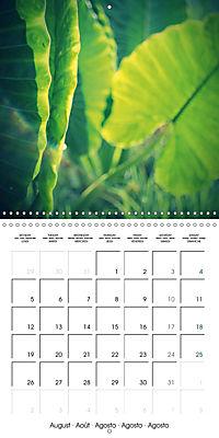 Tropical Greenery (Wall Calendar 2019 300 × 300 mm Square) - Produktdetailbild 8