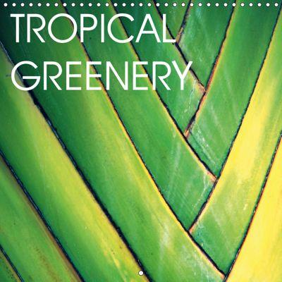 Tropical Greenery (Wall Calendar 2019 300 × 300 mm Square), Céline Baur