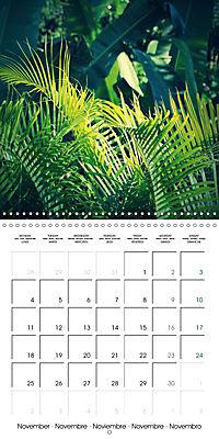 Tropical Greenery (Wall Calendar 2019 300 × 300 mm Square) - Produktdetailbild 11