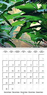 Tropical Greenery (Wall Calendar 2019 300 × 300 mm Square) - Produktdetailbild 12