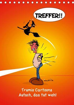 Trumix Cartoons - Autsch, das tut weh! (Tischkalender 2019 DIN A5 hoch), Trumix (Reinhard Trummer), Reinhard Trummer