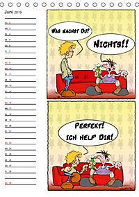 Trumix Cartoons - Autsch, das tut weh! (Tischkalender 2019 DIN A5 hoch) - Produktdetailbild 6