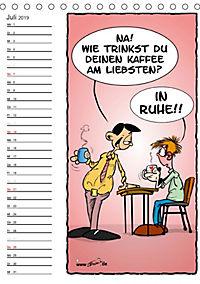 Trumix Cartoons - Autsch, das tut weh! (Tischkalender 2019 DIN A5 hoch) - Produktdetailbild 7