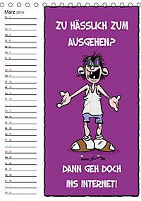 Trumix Cartoons - Autsch, das tut weh! (Tischkalender 2019 DIN A5 hoch) - Produktdetailbild 3