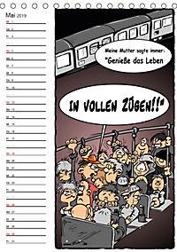 Trumix Cartoons - Autsch, das tut weh! (Tischkalender 2019 DIN A5 hoch) - Produktdetailbild 5