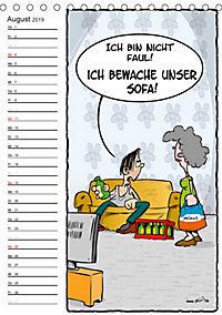 Trumix Cartoons - Autsch, das tut weh! (Tischkalender 2019 DIN A5 hoch) - Produktdetailbild 8