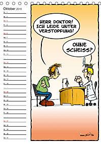 Trumix Cartoons - Autsch, das tut weh! (Tischkalender 2019 DIN A5 hoch) - Produktdetailbild 10