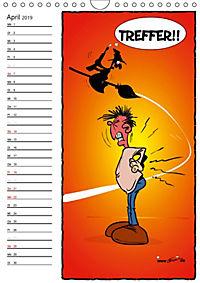 Trumix Cartoons - Autsch, das tut weh! (Wandkalender 2019 DIN A4 hoch) - Produktdetailbild 4