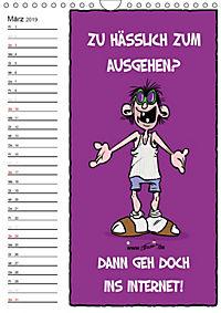 Trumix Cartoons - Autsch, das tut weh! (Wandkalender 2019 DIN A4 hoch) - Produktdetailbild 3