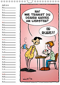Trumix Cartoons - Autsch, das tut weh! (Wandkalender 2019 DIN A4 hoch) - Produktdetailbild 7