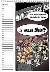 Trumix Cartoons - Autsch, das tut weh! (Wandkalender 2019 DIN A4 hoch) - Produktdetailbild 5