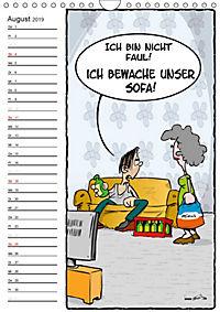 Trumix Cartoons - Autsch, das tut weh! (Wandkalender 2019 DIN A4 hoch) - Produktdetailbild 8