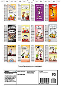 Trumix Cartoons - Autsch, das tut weh! (Wandkalender 2019 DIN A4 hoch) - Produktdetailbild 13