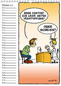 Trumix Cartoons - Autsch, das tut weh! (Wandkalender 2019 DIN A4 hoch) - Produktdetailbild 10