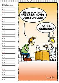 Trumix Cartoons - Autsch, das tut weh! (Wandkalender 2019 DIN A3 hoch) - Produktdetailbild 10