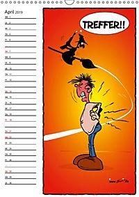 Trumix Cartoons - Autsch, das tut weh! (Wandkalender 2019 DIN A3 hoch) - Produktdetailbild 4