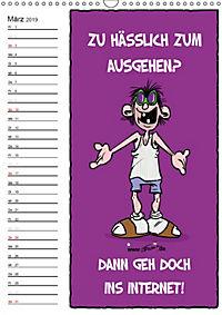 Trumix Cartoons - Autsch, das tut weh! (Wandkalender 2019 DIN A3 hoch) - Produktdetailbild 3