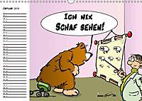 Trumix Cartoons - Dumm gelaufen (Wandkalender 2019 DIN A3 quer) - Produktdetailbild 1