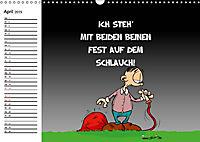 Trumix Cartoons - Dumm gelaufen (Wandkalender 2019 DIN A3 quer) - Produktdetailbild 4