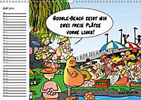 Trumix Cartoons - Dumm gelaufen (Wandkalender 2019 DIN A3 quer) - Produktdetailbild 7