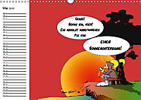 Trumix Cartoons - Dumm gelaufen (Wandkalender 2019 DIN A3 quer) - Produktdetailbild 5