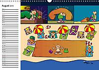 Trumix Cartoons - Dumm gelaufen (Wandkalender 2019 DIN A3 quer) - Produktdetailbild 8