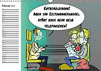 Trumix Cartoons - Dumm gelaufen (Wandkalender 2019 DIN A3 quer) - Produktdetailbild 2