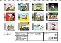 Trumix Cartoons - Dumm gelaufen (Wandkalender 2019 DIN A3 quer) - Produktdetailbild 13