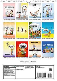 Trumix Comics - That's life (Wall Calendar 2019 DIN A4 Portrait) - Produktdetailbild 13