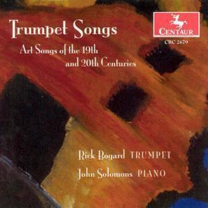 Trumpet Songs, Rick Bogard