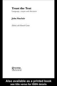 Trust the Text, John Sinclair