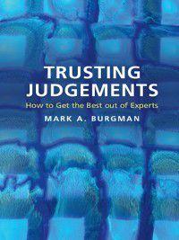 Trusting Judgements, Mark A. Burgman