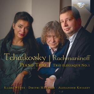 Tschaikowski/Rachmaninow:Piano Trio/+, Klara Würtz, Dmitri Makhtin, Alexander Kniazev
