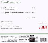 Tschappina Variationen / Konzert für Ensemble & Violine - Produktdetailbild 1